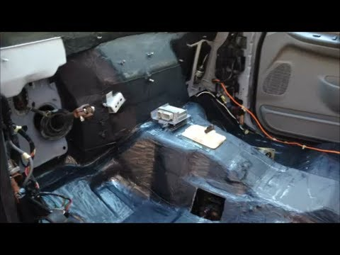 sound proofing project part    reducing  cab diesel engine noise youtube