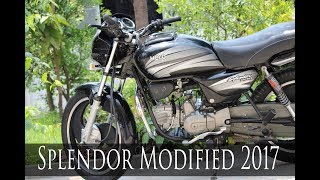Hero Splendor Modified 2017   Sports bike   E Bike