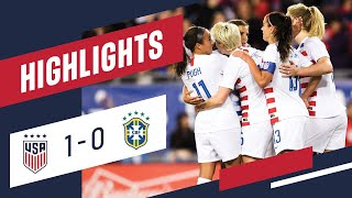 Download WNT vs. Brazil: Highlights - March 5, 2019 Mp3 and Videos