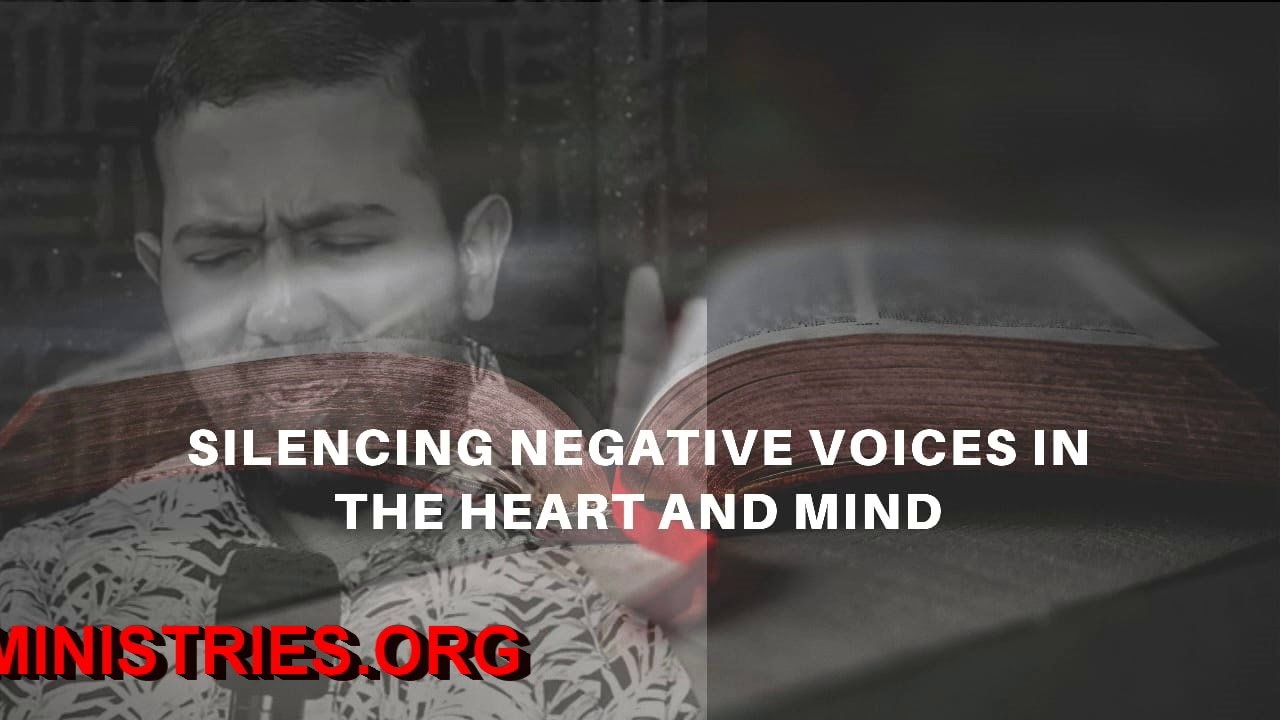 EV. GABRIEL FERNANDES SHARES ON SILENCING NEGATIVE VOICES IN THE HEART & MIND AND HE PRAYS FOR Y