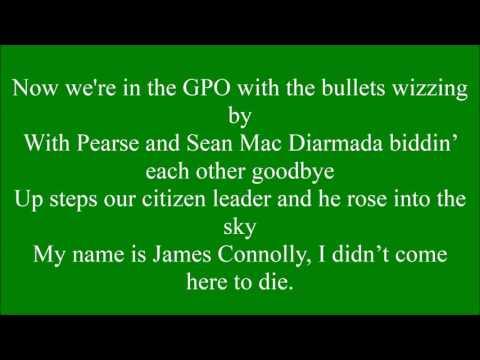 Irish Citizen Army with lyrics