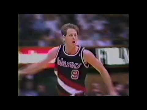 1991 Regular Season Portland@LA Lakers HIGHLIGHTS