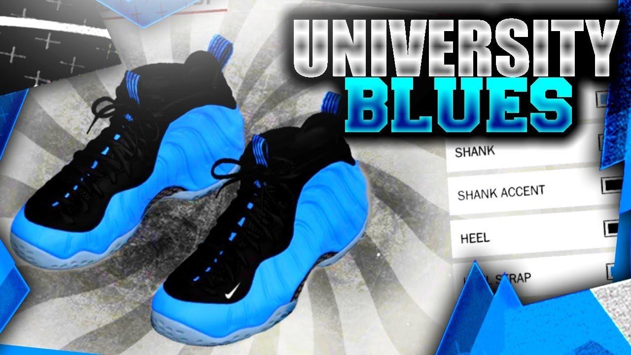 How 2k18 University Best Nike One Make Nba Shoes Tutorial Blue Shoe In Creator 2k18 To Foamposite UMjzGLqSVp