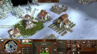 Jogando Age of Empires III #2 Uma catástrofe nas vilas