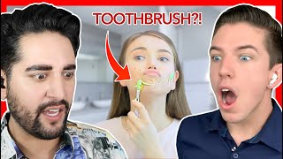 Reacting to DIY Beauty Hacks ft. James Welsh!