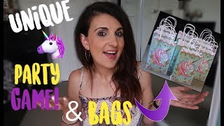 FUN & UNIQUE UNICORN PARTY GAME FOR ALL AGES & PARTY BAG IDEAS!