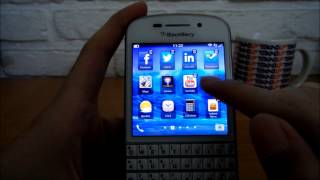 Antarmuka BlackBerry Q10