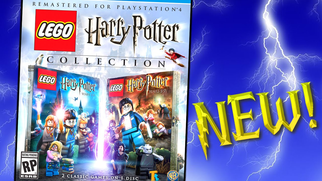 NEW LEGO Harry Potter Video Game Coming Soon on PS4 - BrickQueen - YouTube