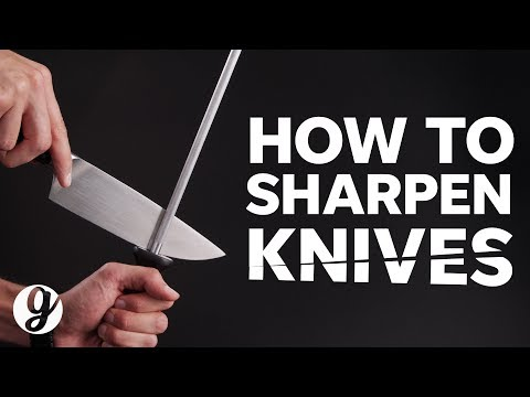 How to Sharpen Knives with Honing Steel and Whetstone | GRATEFUL