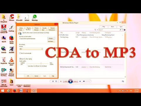 CDA to MP3 Conversion|Very easy with Windows Media Player