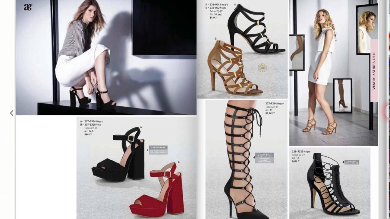 4fd13589 Sandalias Andrea Otoño Invierno 2016, zapatos de moda - YouTube