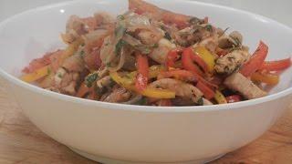 Mexican Stir Fry Chicken | Sanjeev Kapoor Khazana