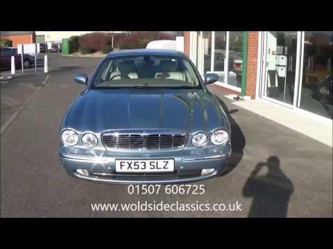 SOLD 2002 Jaguar XJ V8 SE For Sale in Louth Lincolnshire