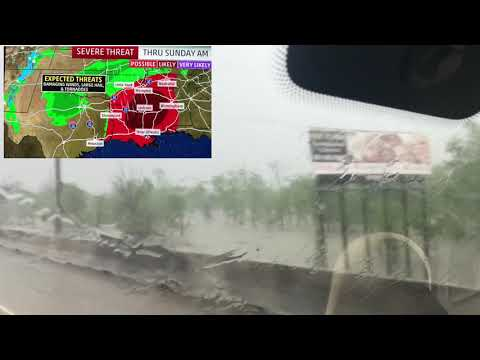 Торнадо в Техасе, Луизиане, Миссиссиппи, Алабаме. 13 апреля 2019