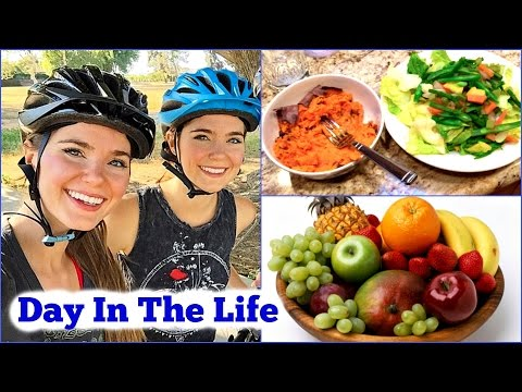 A Day in the Life - EXERCISE ROUTINE + What I ate today VEGAN
