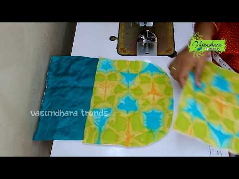 Designer Hand Bag Making Tutorial In Telugu || How To Stitch Fabric Hand Bag With Waste Cloth