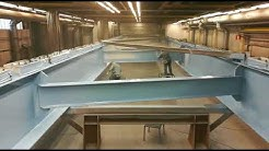 Midroc Alucrom surface treatment and painting application for large welded bridge
