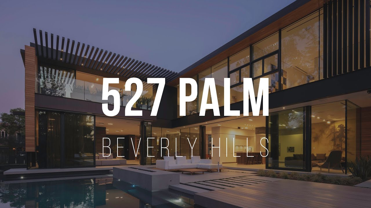 527 North Palm Drive   $19,995,000 Beverly Hills Mansion