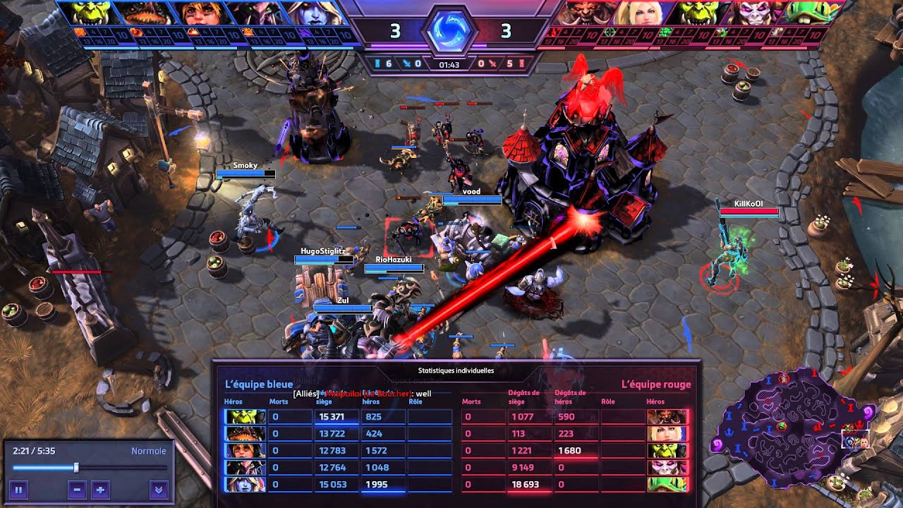 heroes of the storm how to carry noobs