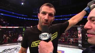 Fight Night New Jersey: Luke Rockhold Octagon Interview