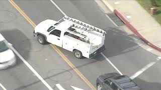 04/04/2019: Car Chase Equipment Truck with Dangerous Ending - Unedited