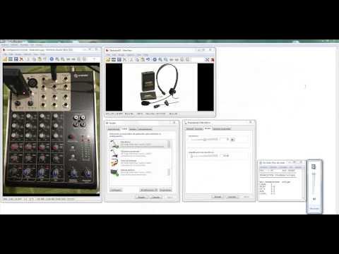 Grabar audio con la Consola Mix-160 y Mic-290