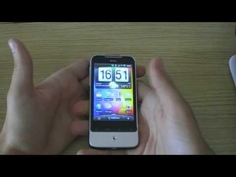 Videoreview HTC Legend