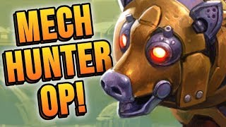 My BEST WIN RATE Yet! Feat. Mech Hunter! | Rise of Shadows | Hearthstone