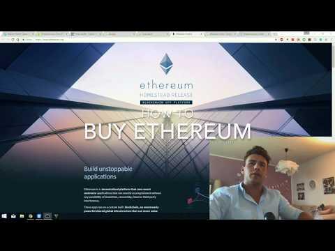 ETHEREUM Cryptowährung sicher kaufen und Wallet anlegen! Investieren