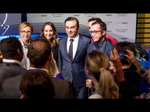 Rencontre entre Carlos Ghosn et de nouveaux embauchés | Groupe Renault