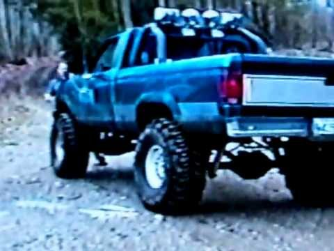 1992 ford ranger with 385 boggers and 8 lift - Lifted 1992 Ford Ranger