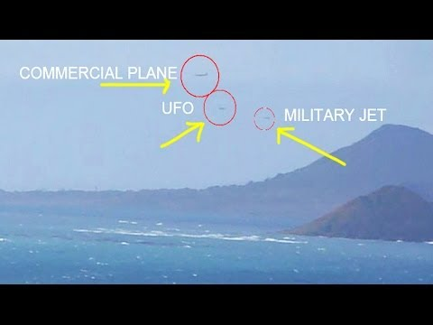 UFO MILITARY JET CHASES UFO IN HAWAII MAY...