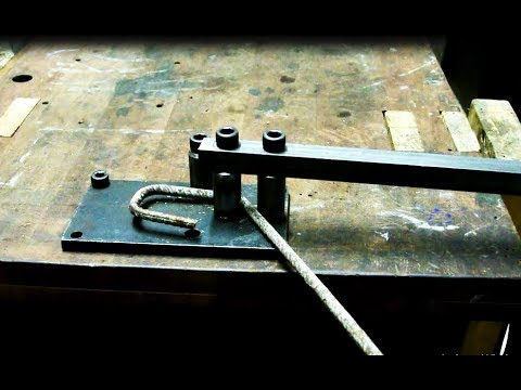 -Homemade metal bender