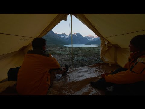 Greenland Adventure: Overnight Camping in Greenland