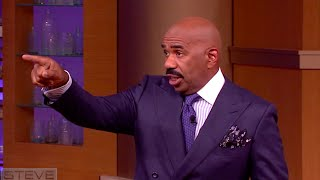 Ask Steve: Do the damn dishes! || STEVE HARVEY