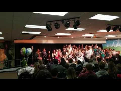 My Daughter Is Singing With Her Friends At Fred Newhart Middle School She's Is In 8th Grade