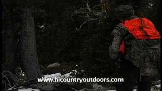 Extreme Montana Self-Guided Boone & Crockett Mountain Goat Hunt, filming by Hi Country Outdoors.