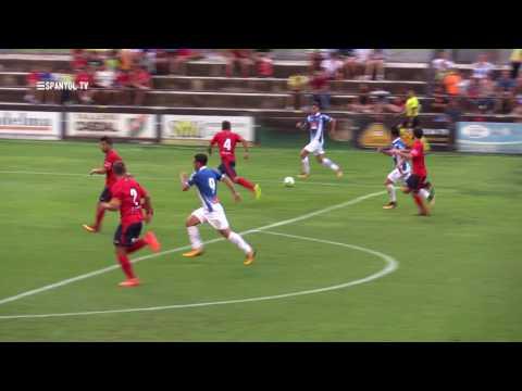 Resum UE Olot 0 - RCD Espanyol 4