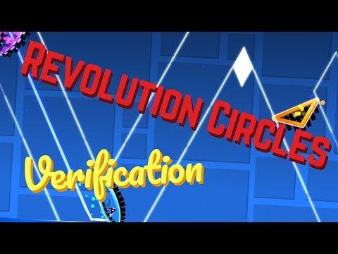 Geometry Dash - Revolution Circles Layout [XL] - Verification - [GER/EN]
