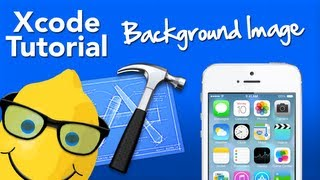 XCode 4 Tutorial Background Image  - Geeky Lemon Development