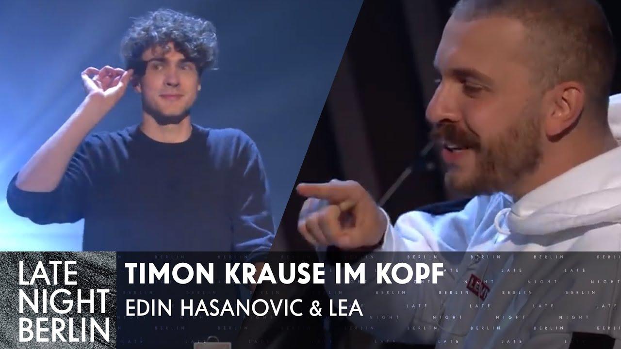 LEA & Edin Hasanovic werden mentalisiert - Timon Krause im Kopf | Late Night Berlin | ProSieben