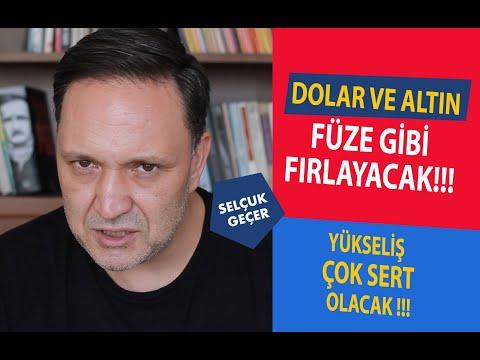 DOLAR VE ALTIN FÜZE GİBİ FIRLAYACAK !!!