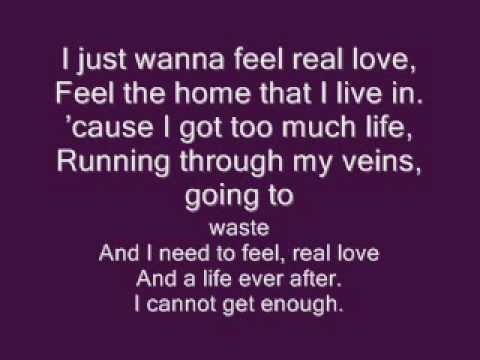Robbie Williams- Feel (lyrics) - YouTube