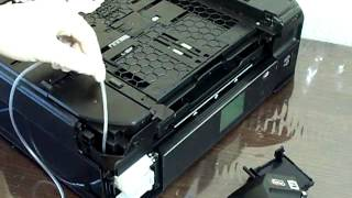 How to install a external waste ink reservoir - Epson XP-600 XP-605