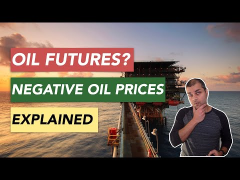 Negative Oil Prices Explained. How Oil Futures Contracts work?