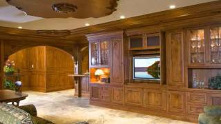 Superior Woodcraft Custom Cabinetry - Residential Bar