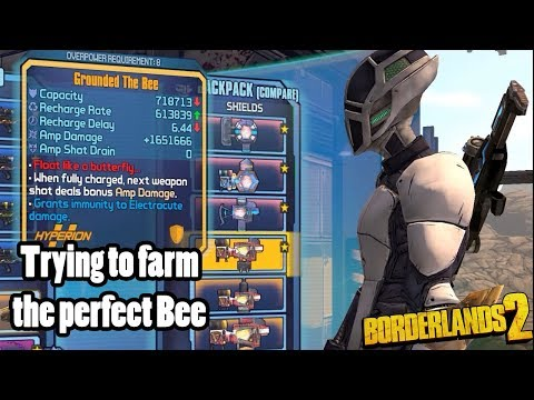 Borderlands 2: Farming for a better Legendary Bee Shield w
