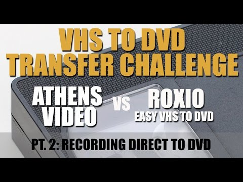 VHS To DVD Challenge Part 2: Making A DVD With Roxio