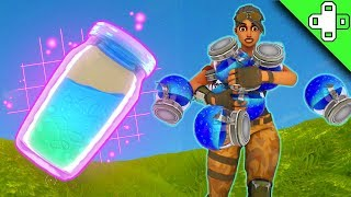 WHY CANT I HOLD ALL THESE POTIONS? - Funny Fortnite Moments 49