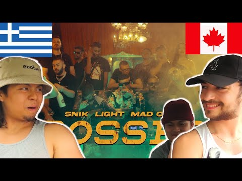 Download CANADIANS REACT TO GREEK RAP - SNIK ft. Light, Mad Clip - BOSSES (Official Music Video)